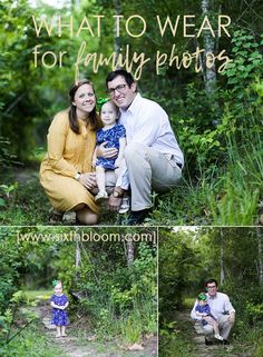 What to Wear for Family Portraits Family Pictures Tips on What to Wear Tips on Family Photography WTW Wednesdays