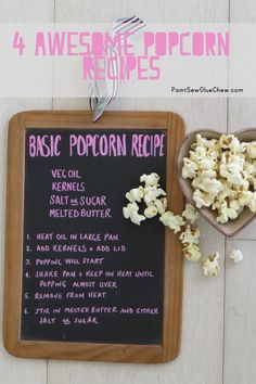 4 Awesome popcorn recipes to make at home