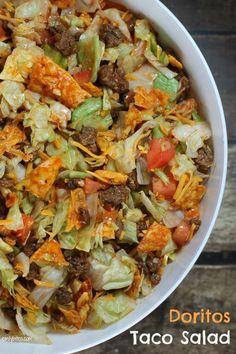 Doritoes taco salad