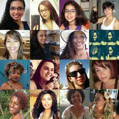 Histórias de Publicitária: Mulheres, de todos os tipos, que amam seus cabelos...