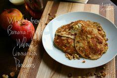 Wheat Free Banana Apple Walnut Pancakes - Living YOUR Creative