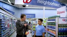 drew brees goes to walgreens to find something for his cold symptoms an associate recommends - Walgreens Christmas Commercial