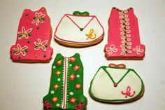Lilly Pulitzer Cookies of mine pinned by the Lilly ladies themselves. :)