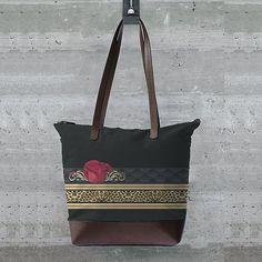 Tote Bag - PINKGREENWHITE by VIDA VIDA owSAiG