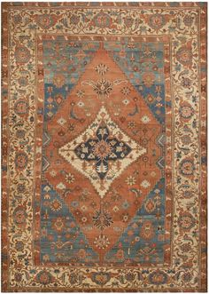 Antique Persian Rug -would love something like this one!