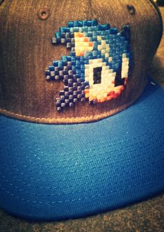 An awesome Sonic cap