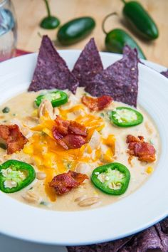 Jalapeno Popper Chicken Soup