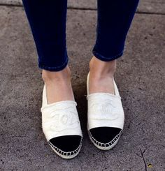 I hate myself for wanting these Chanel espadrilles so badly!