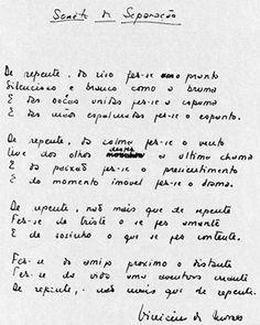 Vinicius de Moraes - Soneto da Separação