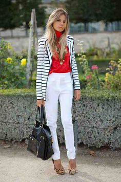 Spring 2013 Street Style Photos - Street Style Trend Report Spring 2013 - Harpers BAZAAR  #GETGRAPHIC