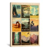 Found it at Wayfair - 'National Park' by Anderson Design Group Vintage Advertisement on Canvas