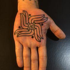 GERHARD WIESBECK Manos Tattoo, Palms, Tribal Tattoos, Palmas, Palm Trees
