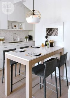 Counter Tables in the Kitchen & Ikea Kitchen Tables for Small Spaces   Kitchen Table and Chairs ...