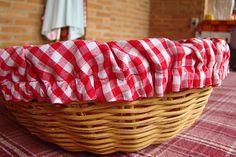 ana sinhana: Modo de fazer: cesta de pão