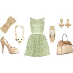 Luxurious Mint, created by roe-kristina on Polyvore