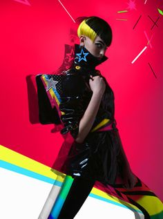 Paco Peregrín #AdonMagazine #style #neon