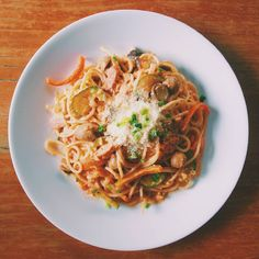 """26 Likes, 8 Comments - Arvin Dimalanta (@rafdimalanta) on Instagram: """"Experiment 16: Spaghetti Napolitan  Masarap!! Easy to make and ingredients to make this are easily…"""""""