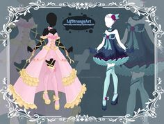 [Close]  Adoptable Outfit Auction 73-74 by LifStrange.deviantart.com on @DeviantArt