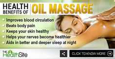 Here's why you should get a massage today!  #OilMassage #Stress #Health Getting A Massage, Improve Blood Circulation, Healthy Skin, Health Benefits, Stress, Conditioner, Healthy Skin Tips, Psychological Stress