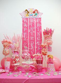 Princess Candy Buffet!