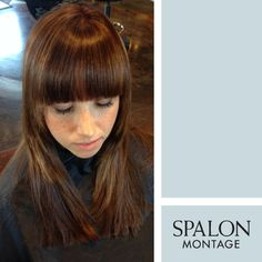 Spalon : Have you been contemplating getting #bangs? This isnt the bangs that ...