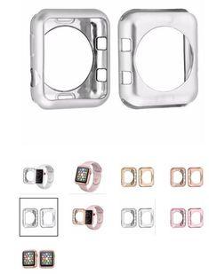 Scratch-resistant Flexible Soft Case For Apple Watch