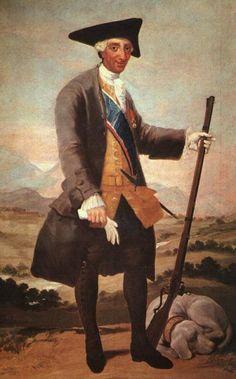 Francisco Goya - Charles III in Hunting Dress – 1788