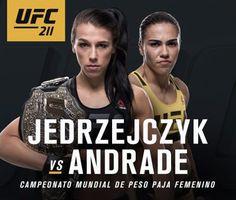 Joanna Jedrzejczyk vs Jessica Andrade Official For UFC 211