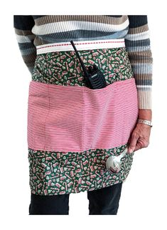 Custom Utility Apron to keep needed items close and hands free. Cold Treatment, Weighted Blanket, Apron, Wonderland, Hands, Cotton, Free, Fashion, Moda
