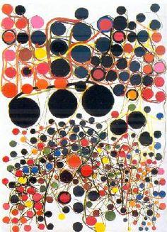 Atsuko Tanaka art ✭ dots inspiration