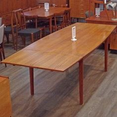 Danish Mid Century Teak Extending Draw Leaf Dining Table Adorable Scandinavian Teak Dining Room Furniture Design Ideas
