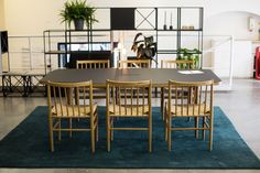 J80 FDB Chairs, Forum Table and GRID system