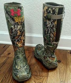 under armour camo hunting boots