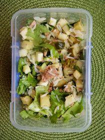 Zdrowa Kuchnia Sowy: Bento, czyli pudełko z posiłkiem do pracy Bento, Tzatziki, Potato Salad, Cabbage, Lunch Box, Food And Drink, Health Fitness, Lose Weight, Vegetables