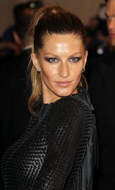 Gisele Bundchen Makeup at the The Costume Institute Gala