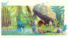 Artes do filme Mune, por Aurélien Predal | THECAB - The Concept Art Blog