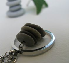 pebble cairn pendant necklace #darcyandoliver Stone Jewelry, Etsy Seller, Handmade Jewelry, Pendant Necklace, Handmade Jewellery, Jewellery Making, Diy Jewelry, Drop Necklace, Craft Jewelry