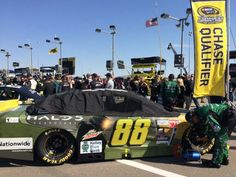 Dale Jr. finishes 21st after another bad race. On to Talladega ...a must win to stay in the chase .