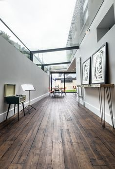 Completed in 2017 in Cardiff, United Kingdom. Images by Richard Wood. . Glen Thomas Architecture's latest project, 'The Glasshouse', is a radically contemporary development of a stunning three-story Victorian house in a...