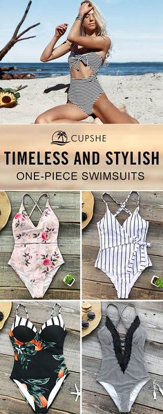 Who needs any other swimsuits when one-piece meets all needs? Go to beach, pool or the like,we have various swimwear for every girl. Dream of seaside or beach party? It's no doubt your best choice.