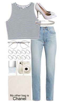"""""""Untitled #776"""" by foreverdreamt ❤ liked on Polyvore featuring Wildfox, ASOS, Yves Saint Laurent, Butter London, Fujifilm, Monki, Chanel and Topshop"""