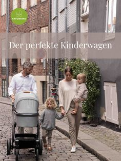 Der Naturkind Kinderwagen Lux ist der perfekte Begleiter für moderne Familien, die beides wollen: die Lebendigkeit der Stadt und den Ausgleich der Natur. Fashion, Baby Things, Families, Kids Wagon, Future, City, Moda, Fashion Styles, Fashion Illustrations