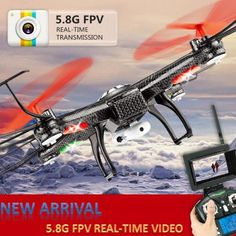 V686g Fpv Rc Drones With Camera Hd Wltoys V686 Dron Professional Drones Quadcopters With Camera Rc Flying Camera Helicopter