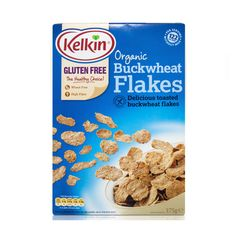 Kelkin Buckwheat Flakes (cereal) : Gluten Free ~ For more treasures like this - 'Like us' on http://fb.me/Biskgetz to help our community grow! Biskgetz.com #Biskgetz @Biskgetz #IntoGlutenFree - celiac disease, coeliac disease, gluten free diet, wheat free diet, gluten intolerance, gluten sensitivity, gluten allergy.