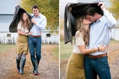 Cute engagement photos!