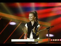 "Amazing good... (^^,) = Diandra Bancu - Is 11 years old and she comes from Romania. The Next Star, the judges is stunned by her talent. Her voice is incredible, and that's not all! Diandra has played a part in the film ""Up in the Air"" with glasses..."