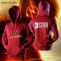 """HOT PRICES FROM ALI - Buy """"TV star laboratories The FLASH hoodies hoodies men comfortable jacket casual sweatshirt homme"""" from category """"Men's Clothing & Accessories"""" for only USD. The Flash Clothes, O Flash, Flash Arrow, Flash Funny, The Flash Grant Gustin, Marvel Clothes, Supergirl And Flash, Looks Cool, Casual"""