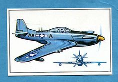 ARMI E SOLDATI - Edis 71 - Figurina-Sticker n. 400 - MUSTANG P.51 -Rec