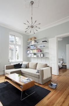 Minimal Apartment Lounge 2