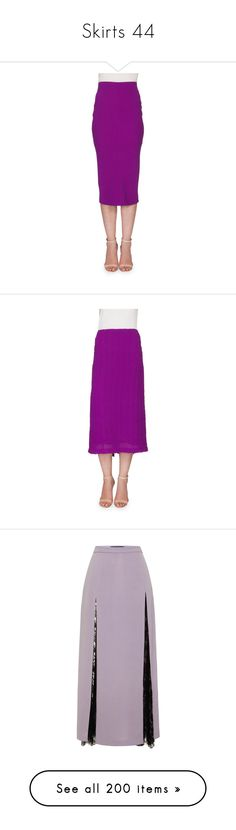 """Skirts 44"" by katiemarilexa ❤ liked on Polyvore featuring skirts, plum, midi pencil skirts, mid calf pencil skirts, calf length pencil skirts, midi skirt, high waisted pencil skirt, pencil skirt, knee length pencil skirt and a line skirt"